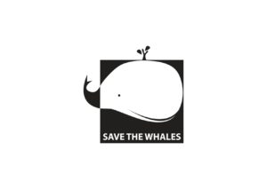 LOGO SAVE THE WHALES