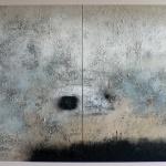 Untitled 80 x 80 - 80 x 80 cm - acrylic on canvas