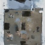Contact 30 x 80 cm - acrylic on canvas