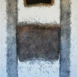 White Line 100 x 100 cm - acrylic on canvas