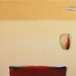 Sand 40 x 50 cm - acrylic on canvas